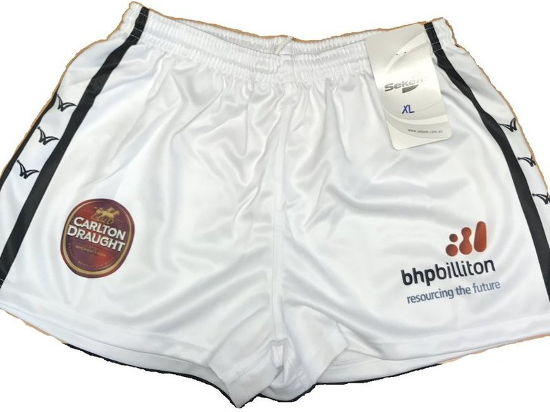 Players Shorts - White