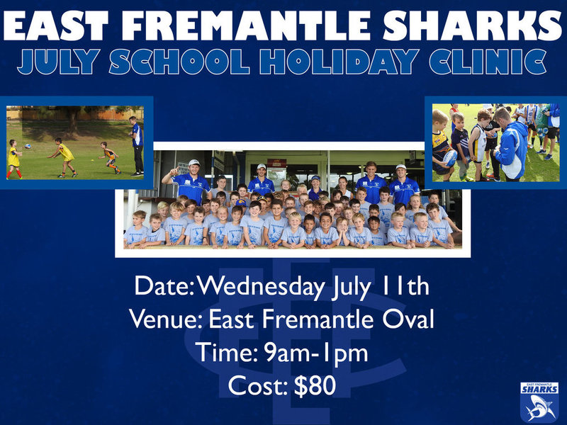 EFFC July School Holiday Clinic 2018