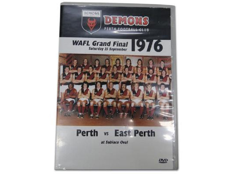 Perth Football Club DVD - 1976