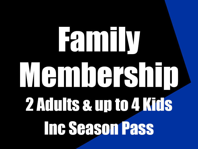 Former Player Family Membership inc Season Pass