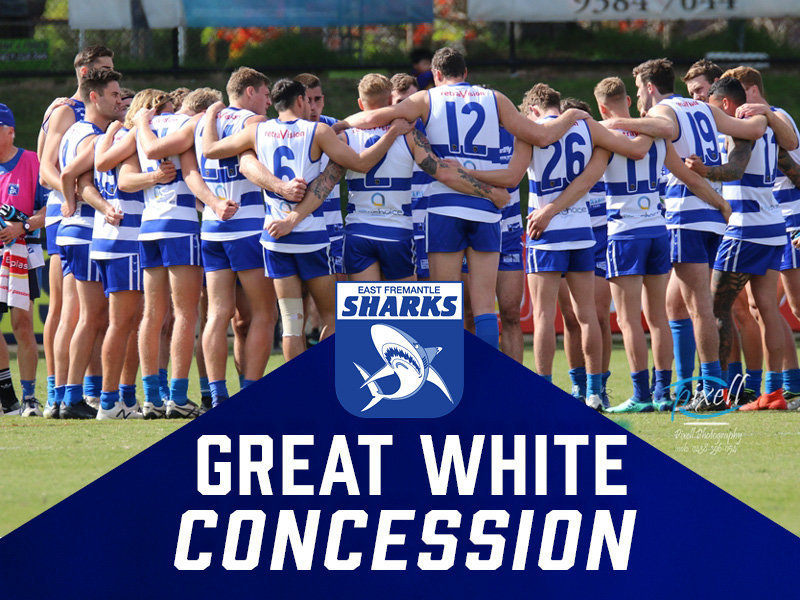 Great White Membership - Concession