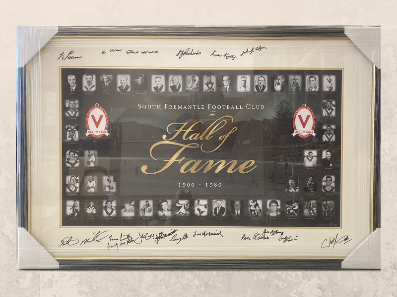 Hall of Fame - Signed
