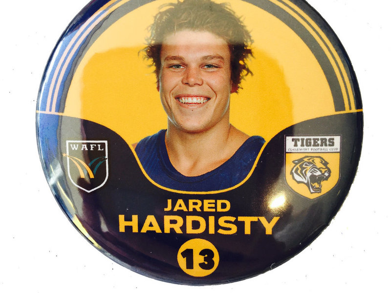 Jared Hardisty 13 Player Badge
