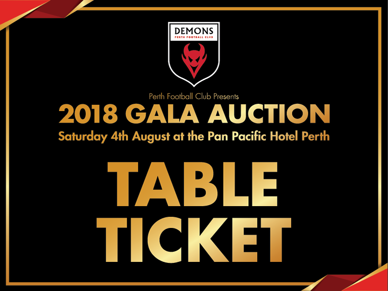 2018 Gala Auction - Table of 10