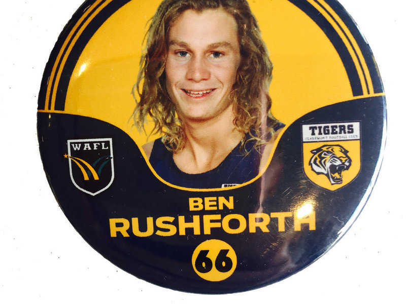 Ben Rushforth 66 Player Badge