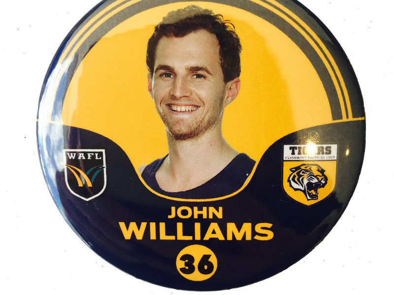 John Williams 36 Player Badge