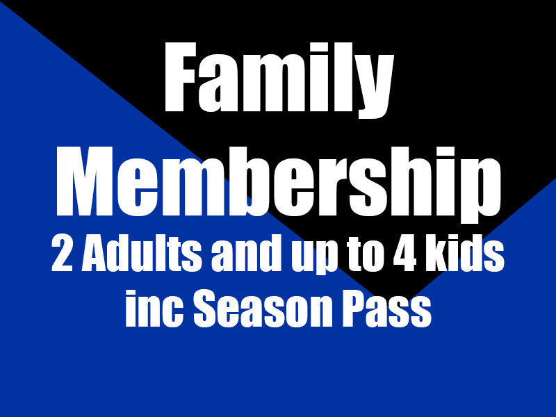 Family Membership inc Season Pass