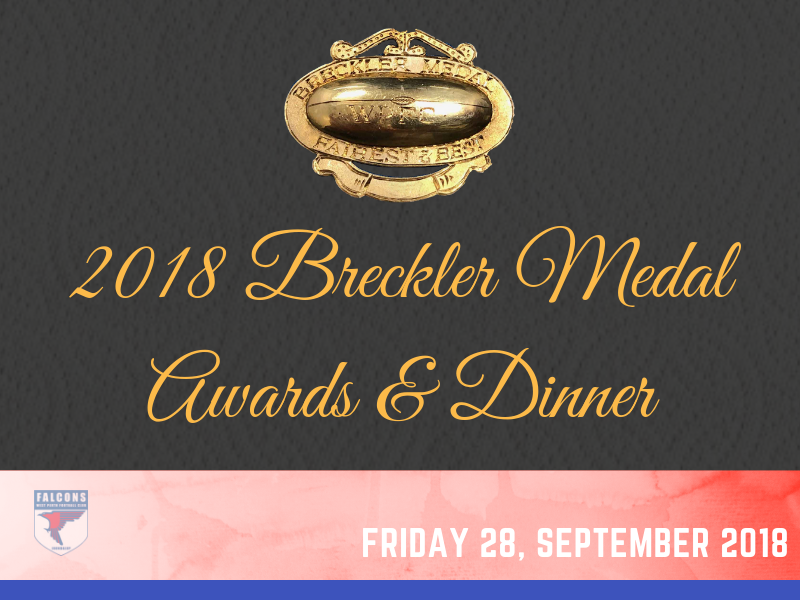 2018 Breckler Medal Awards and Dinner