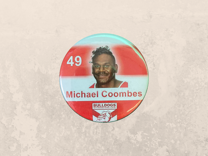 Michael Coombes Badge