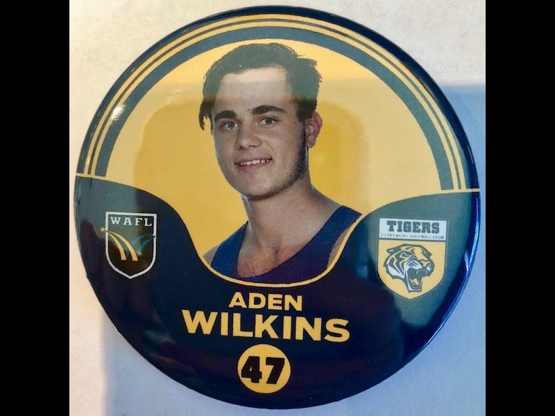Aden Wilkins Player Badge Number 47