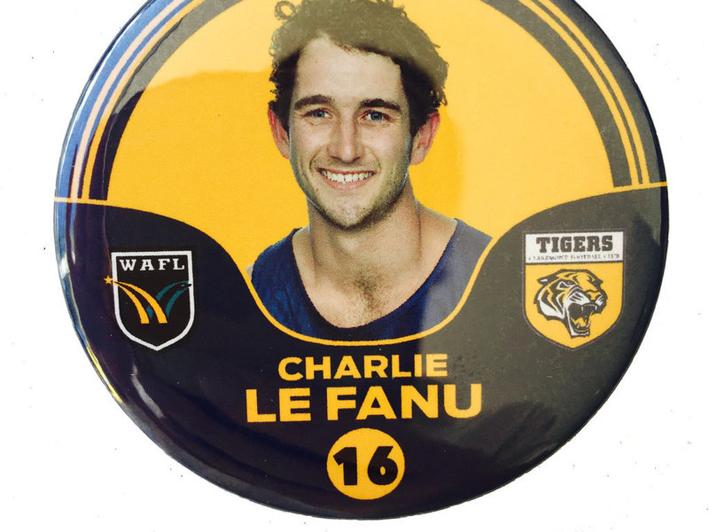 Charlie Le Fanu 16 Player Badge