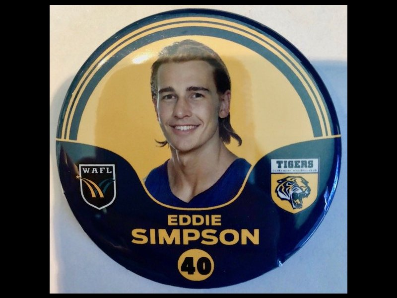 Eddie Simpson Player Badge Number 40