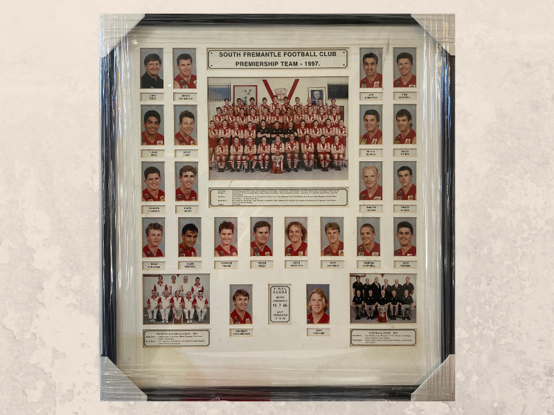 1997 Premiership Team
